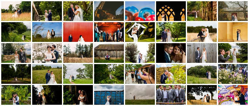 montage of reportage wedding photography wedding photos captured by northampton wedding photographer