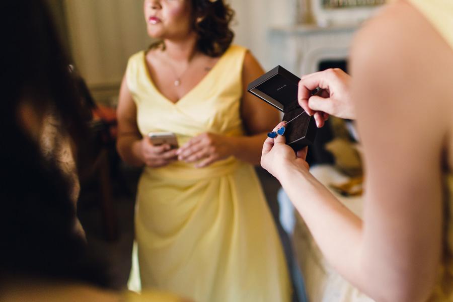 a wedding detail