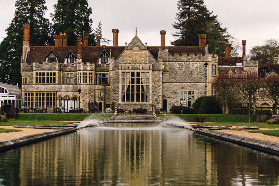 The beautiful wedding venue Rhinefield House