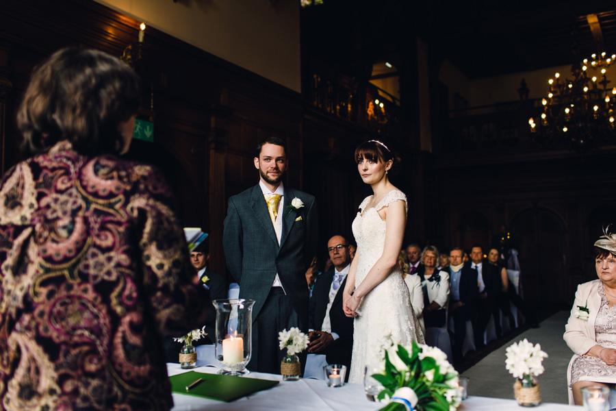a beautiful wedding ceremony
