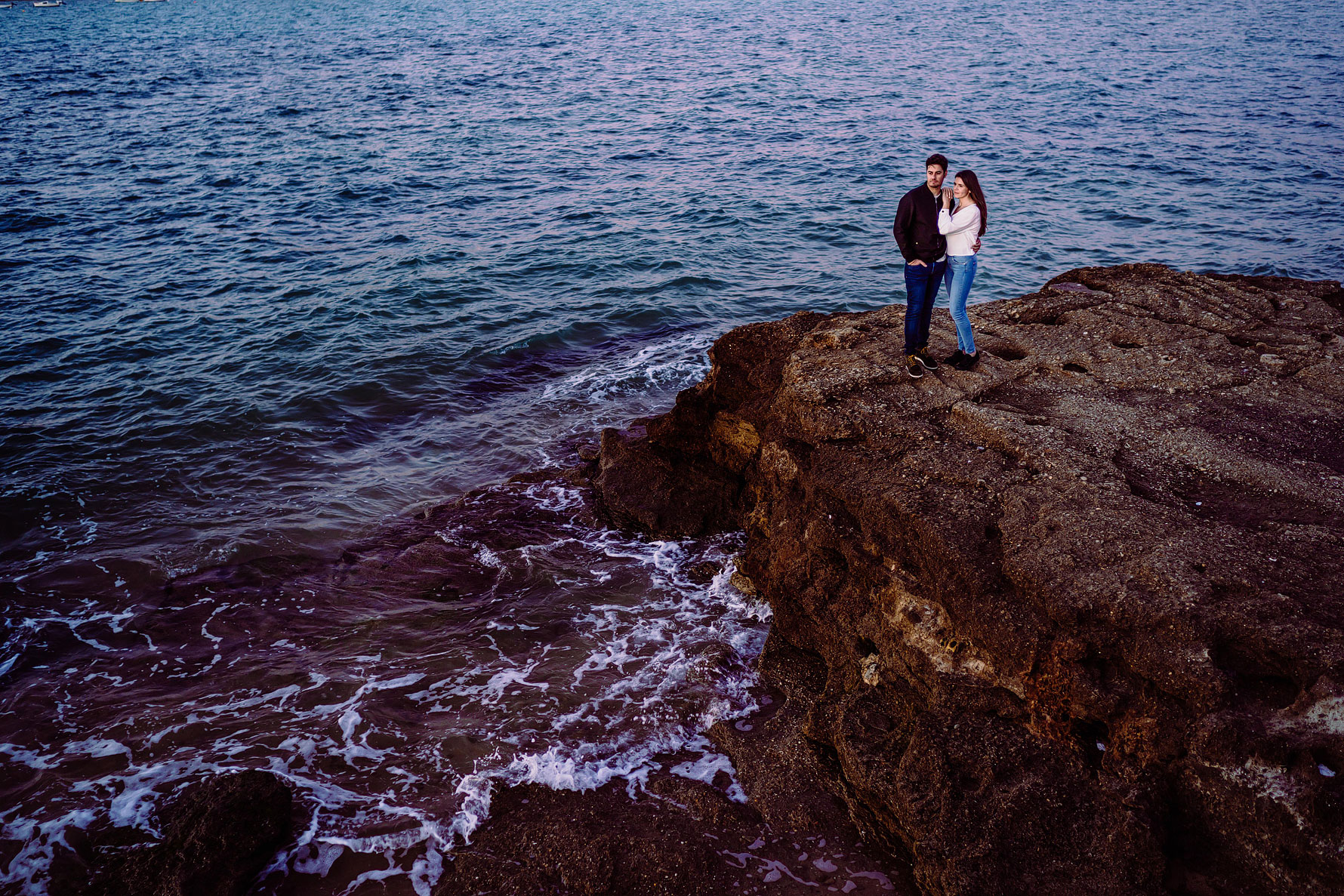 engagement photography in Cadiz