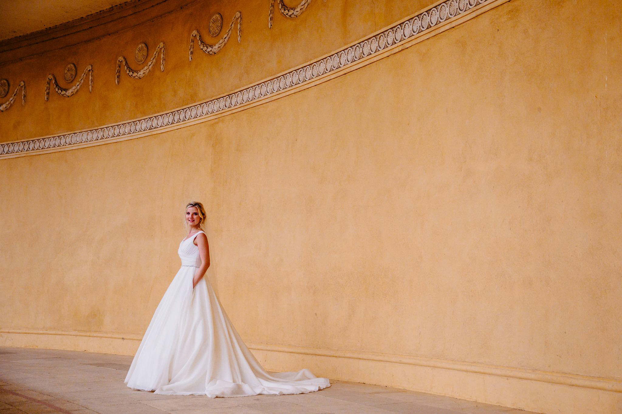 a stunning bridal portrait by Elliot w patching