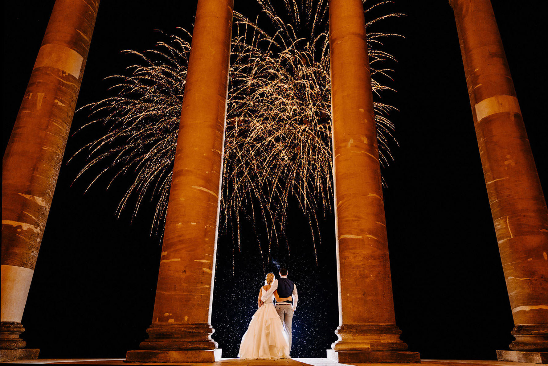 Stowe House wedding photography by Elliot w patching photography