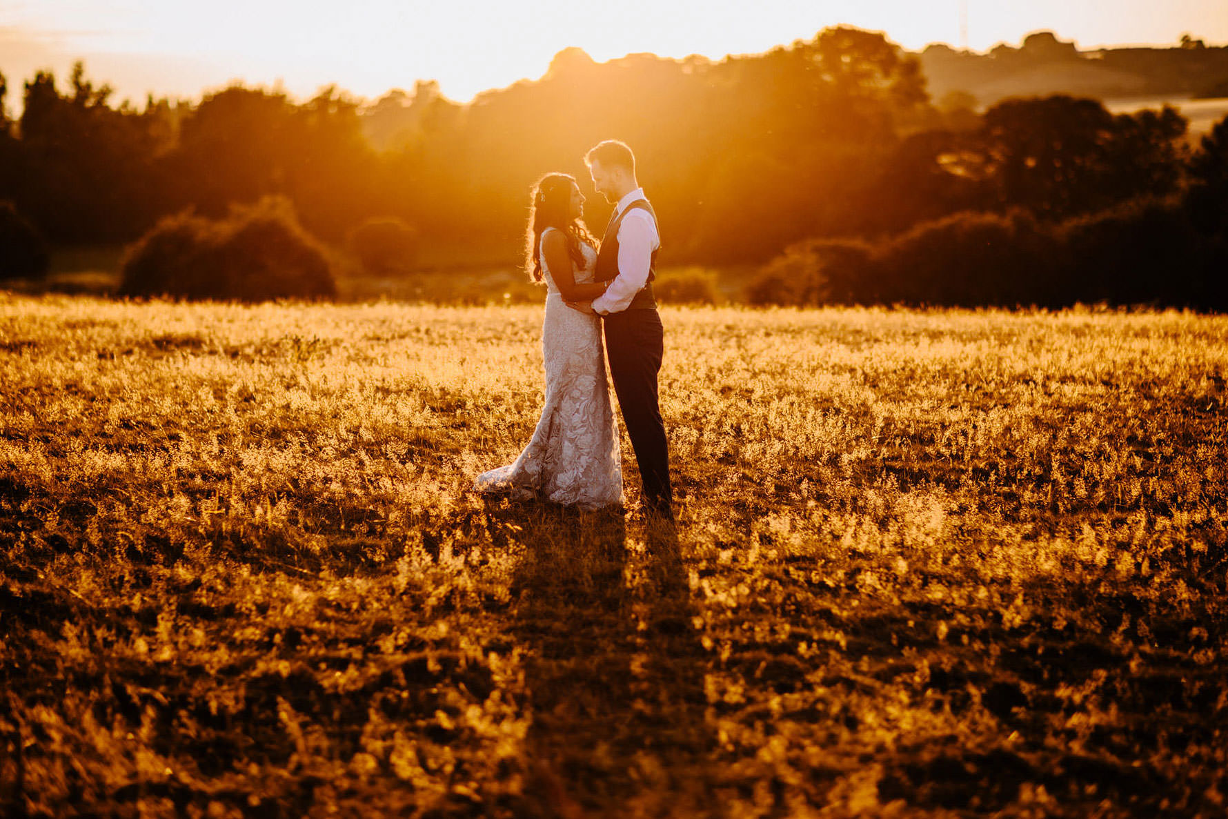 sunset photograph at Dodford Manor