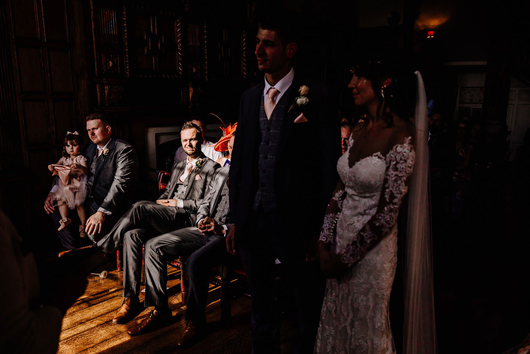 wedding images at lamport hall