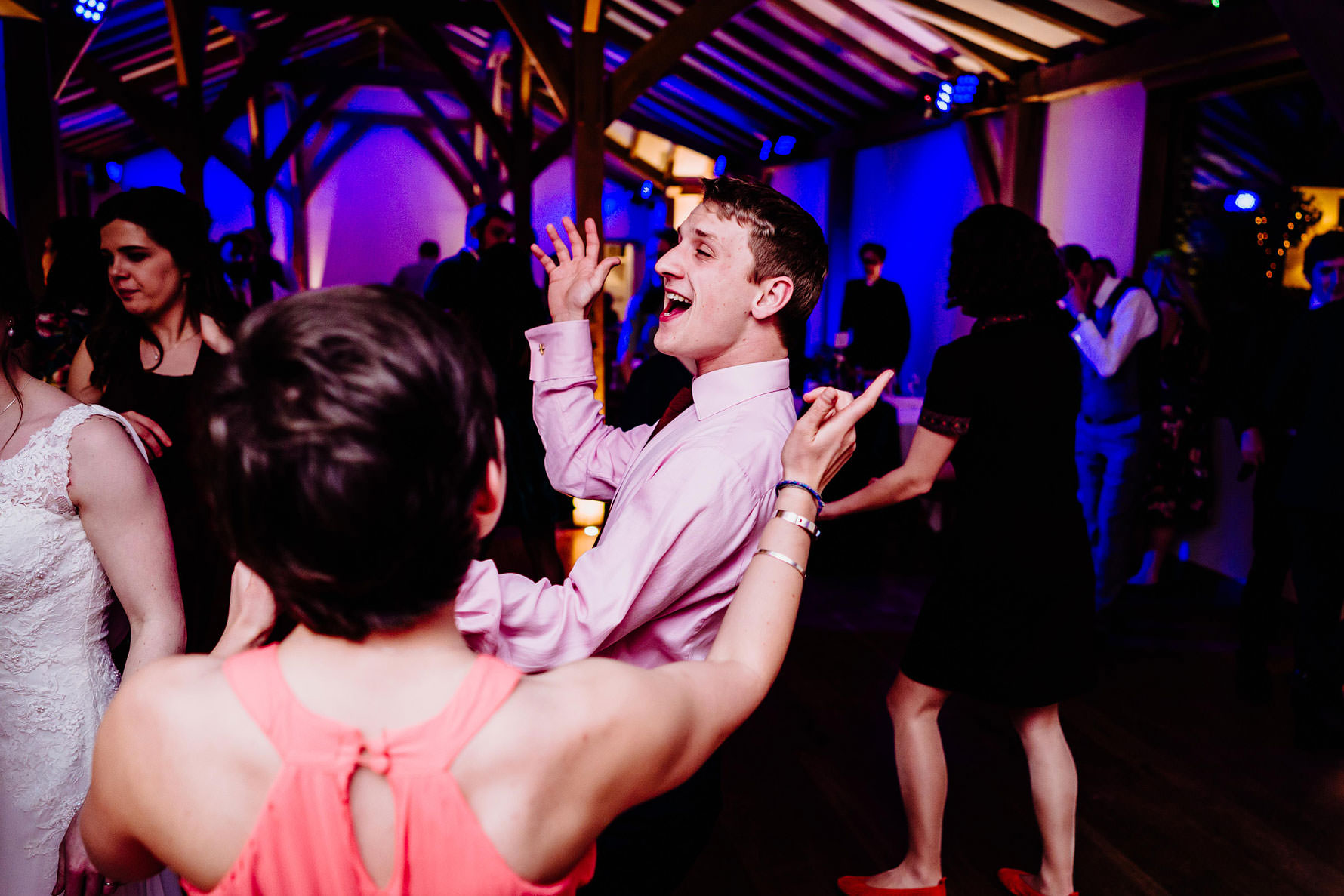guests dance the night away