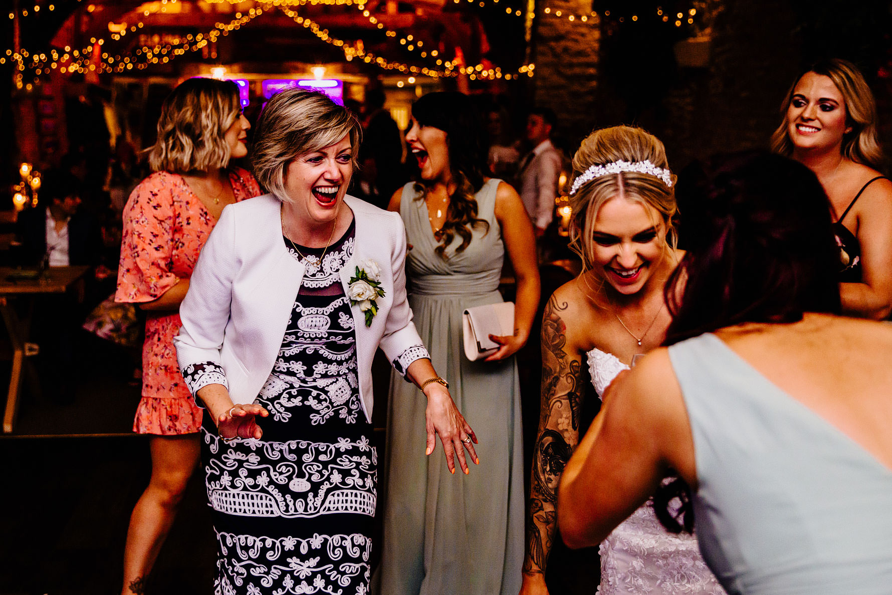 lots of wedding fun