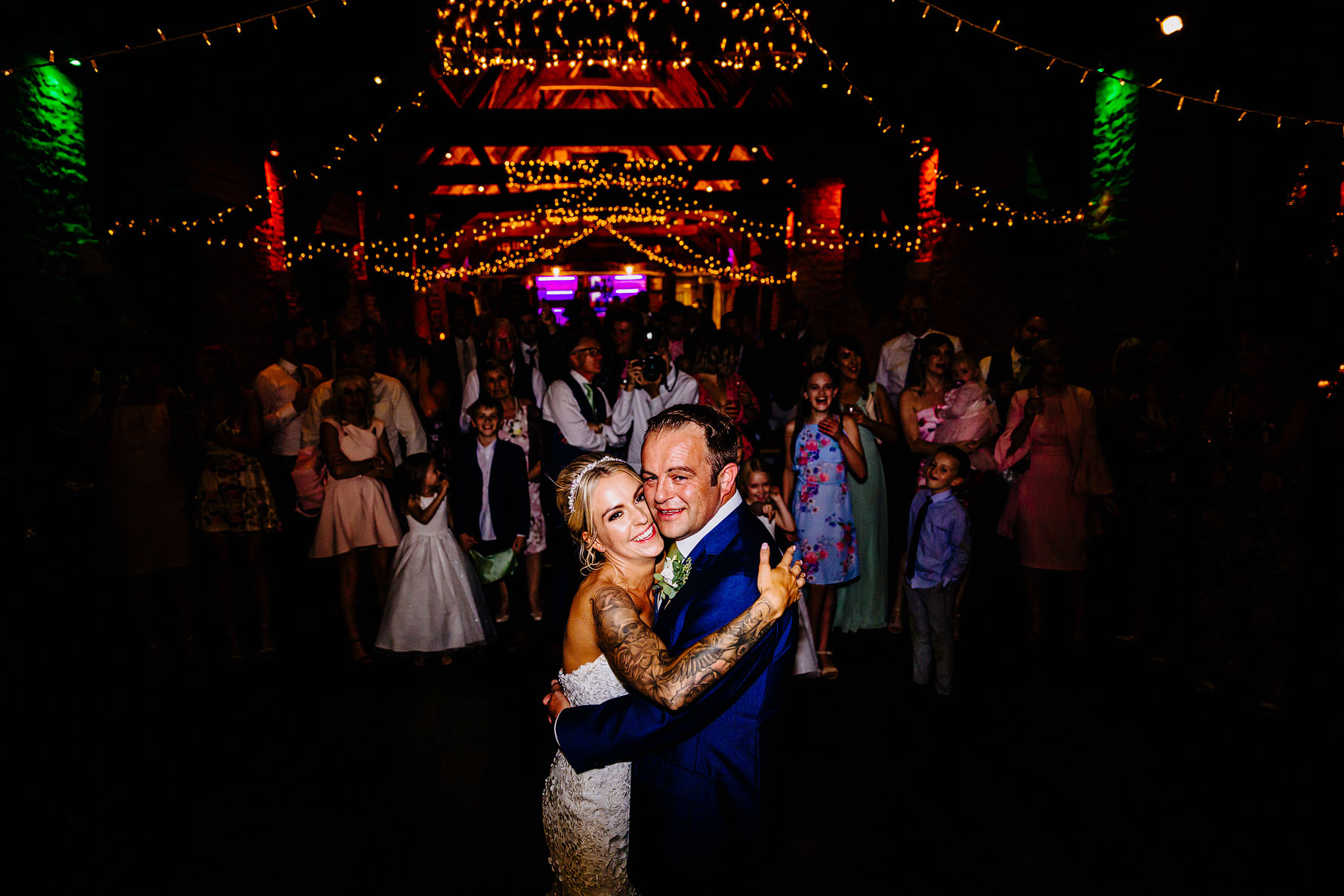the first dance at tythe barn in launton