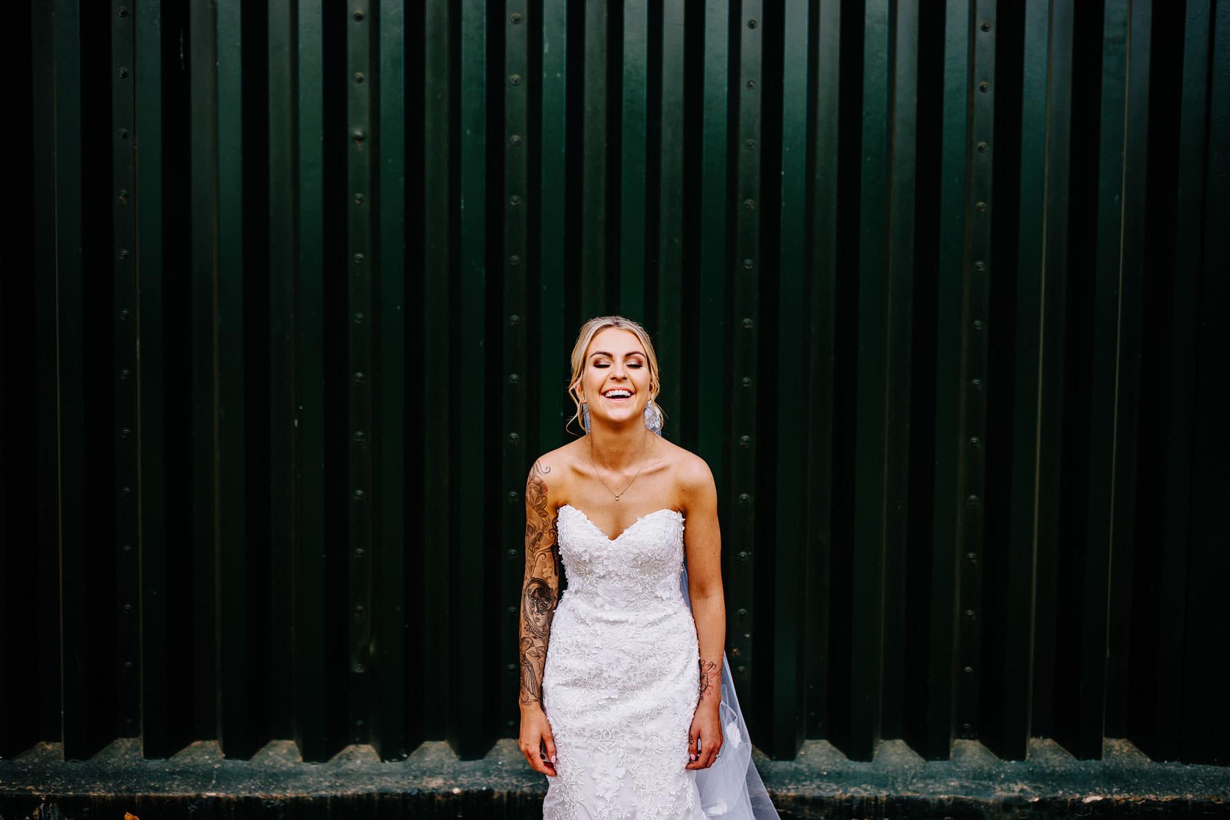 a bridal portrait by Elliot patching