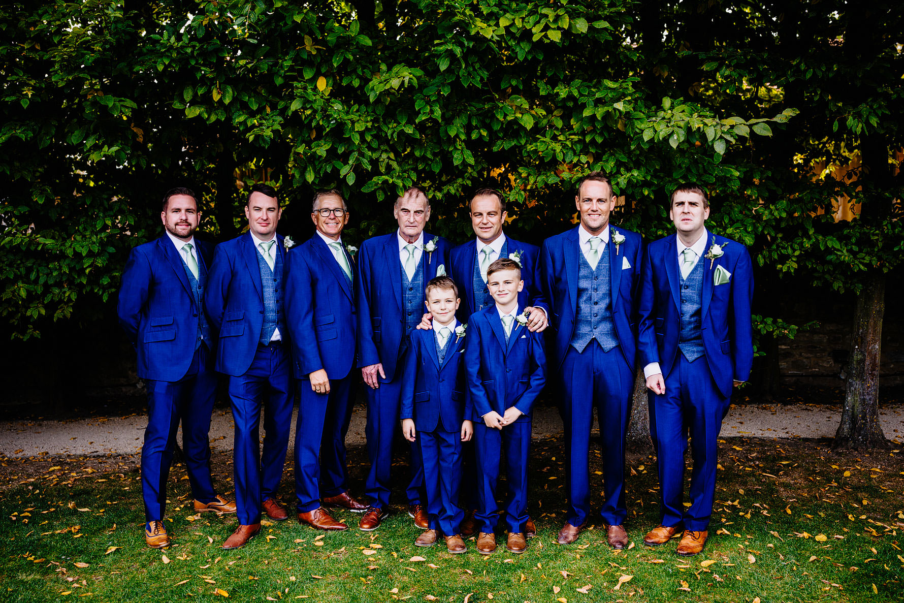 the groom and his groomsmen