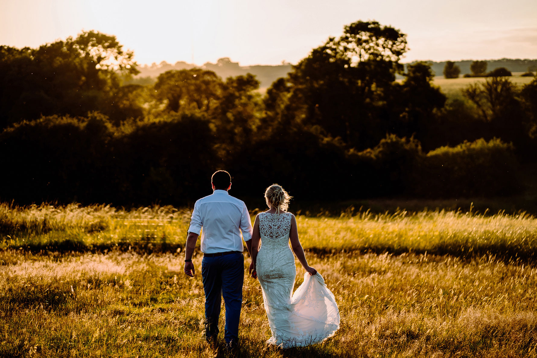 A BEAUTIFUL SUNSET PHOTOGRAPH AT DODFORD MANOR