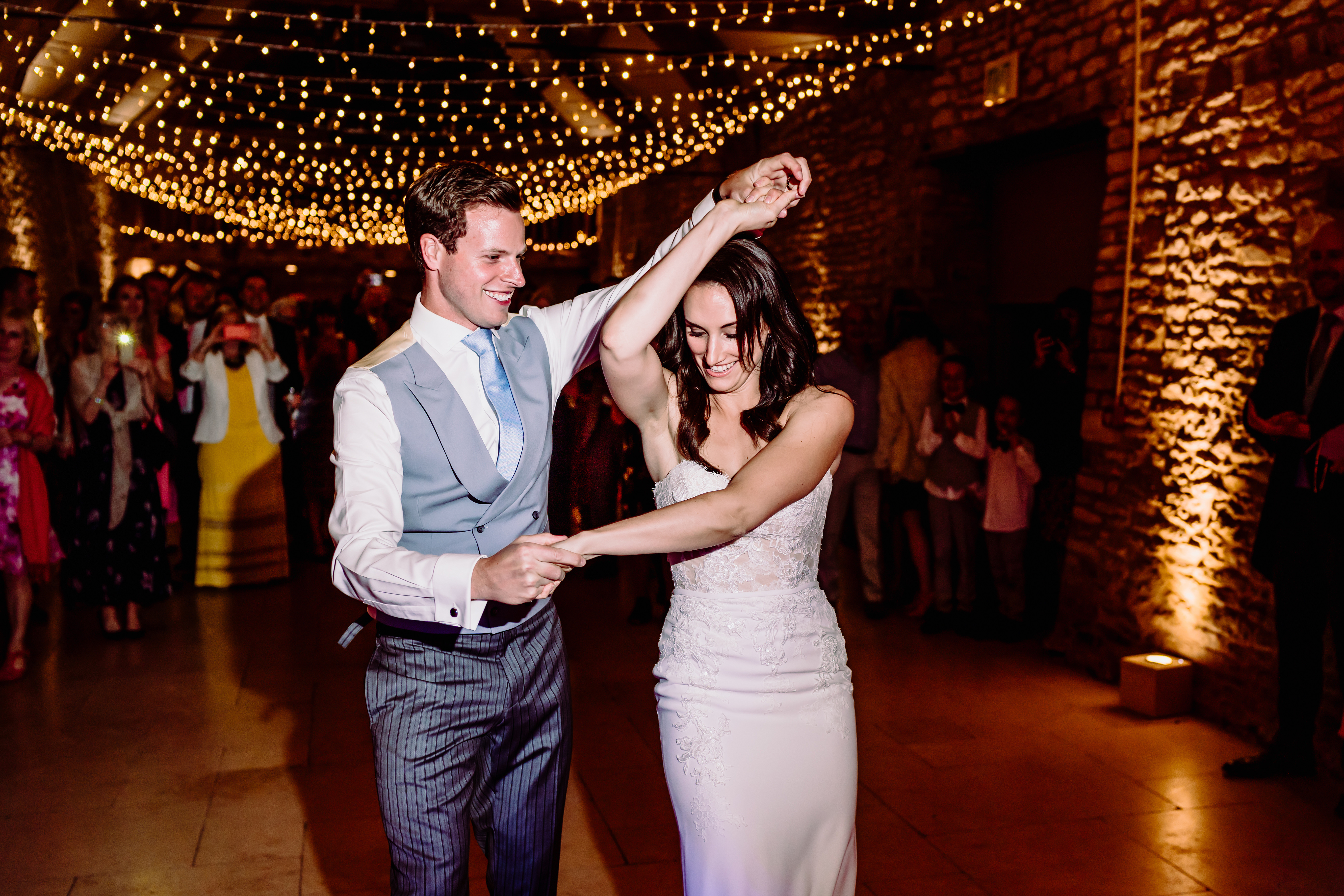 a first dance with the bride
