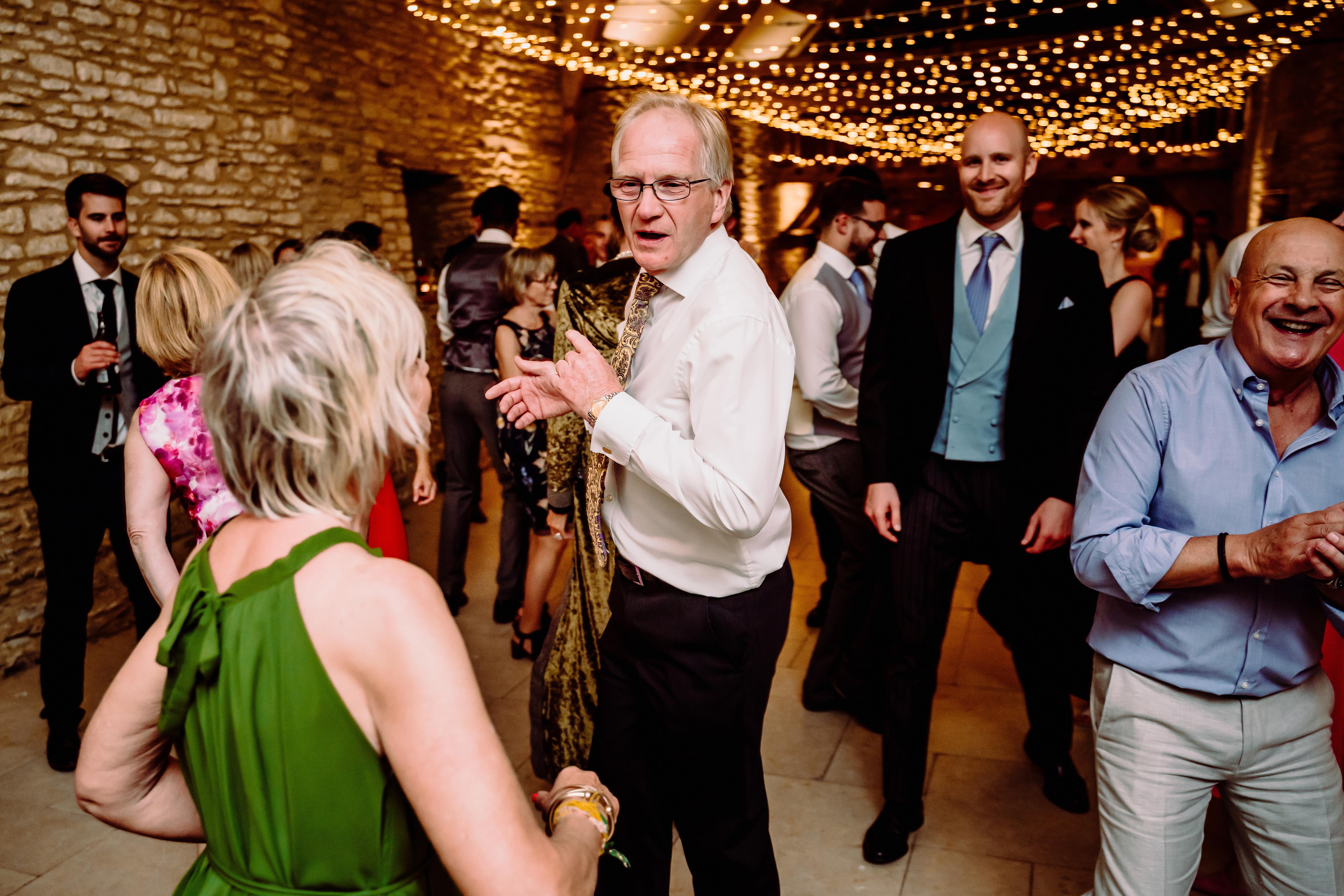 a gentleman dances