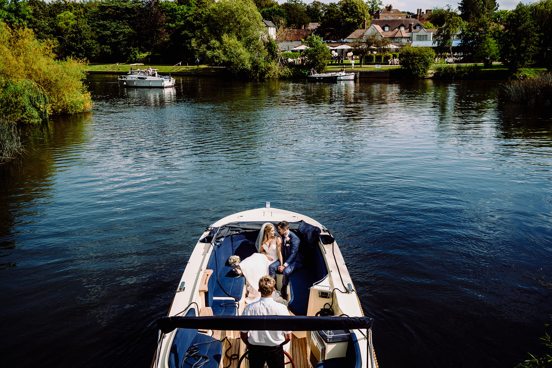 an elliot w patching photography image of a wedding at the great house in sonning