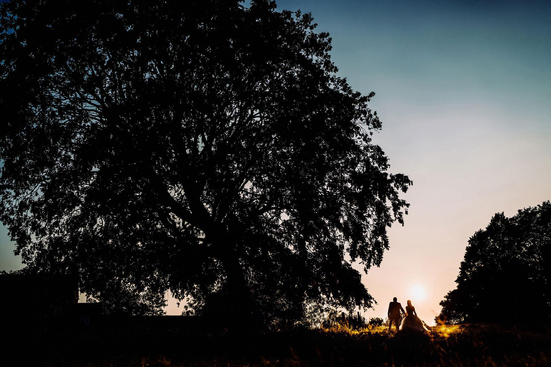 an artistic silhouette