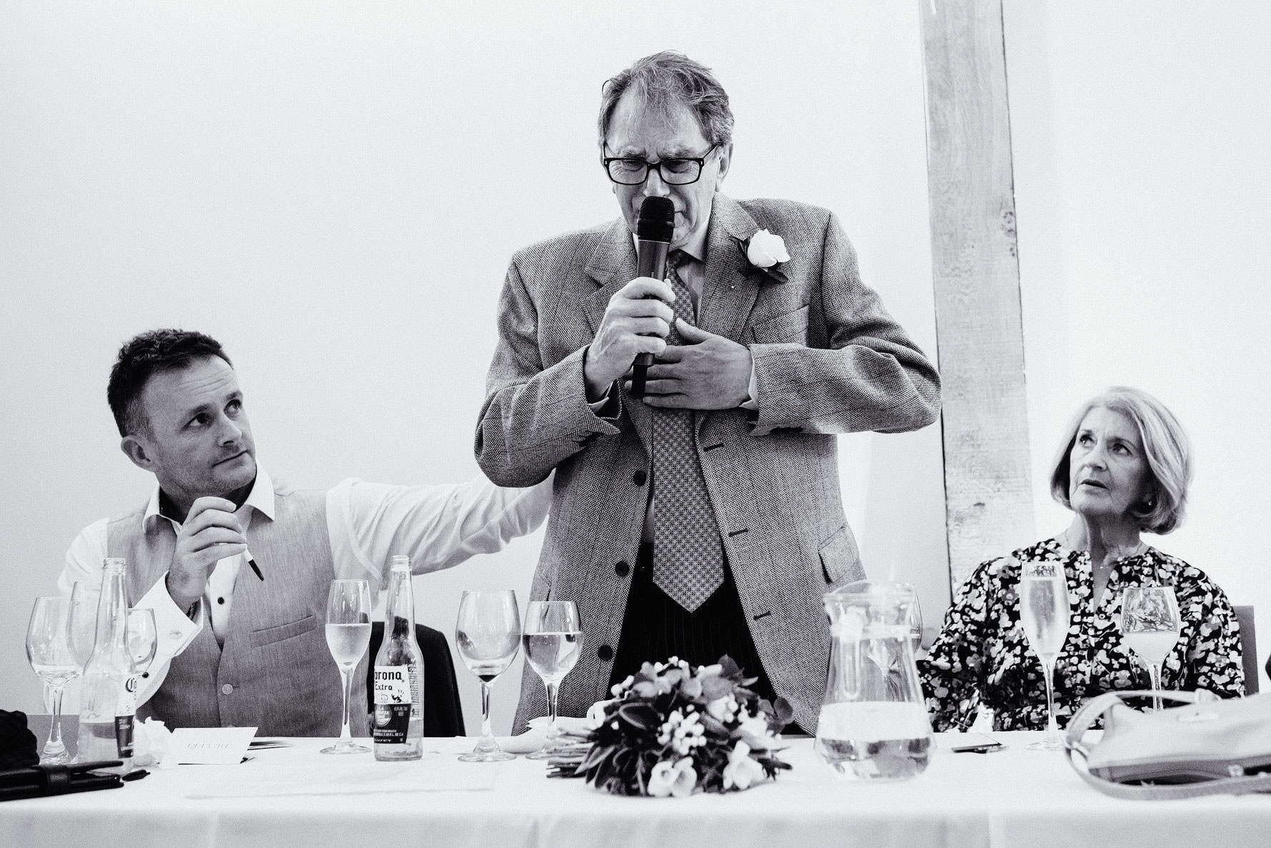 an emotional father of the groom speech