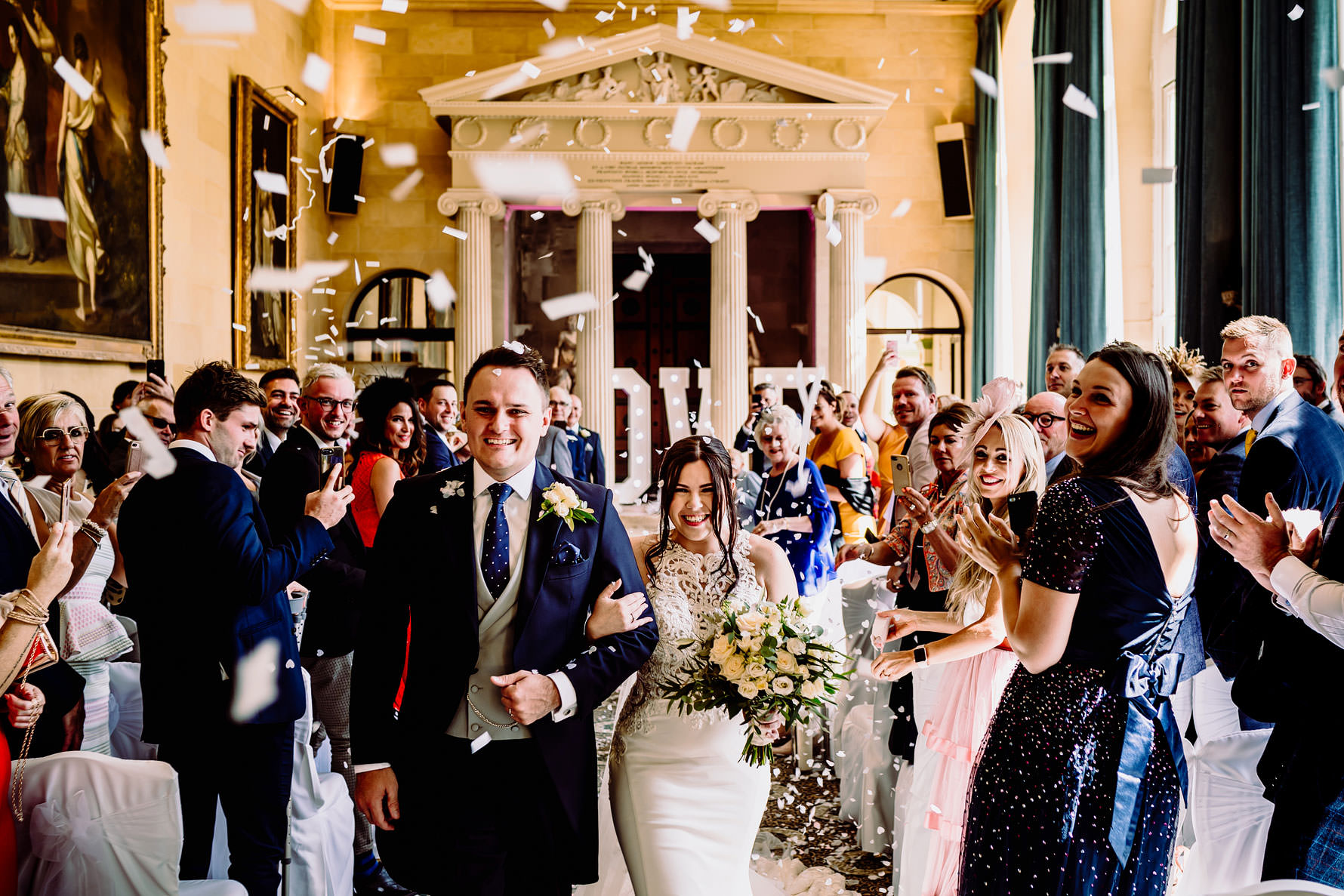 Woburn abbey wedding ceremony