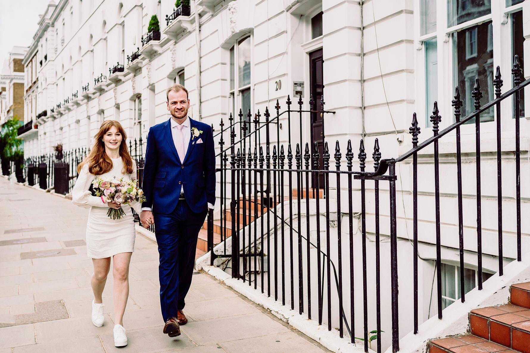 a wedding in Chelsea
