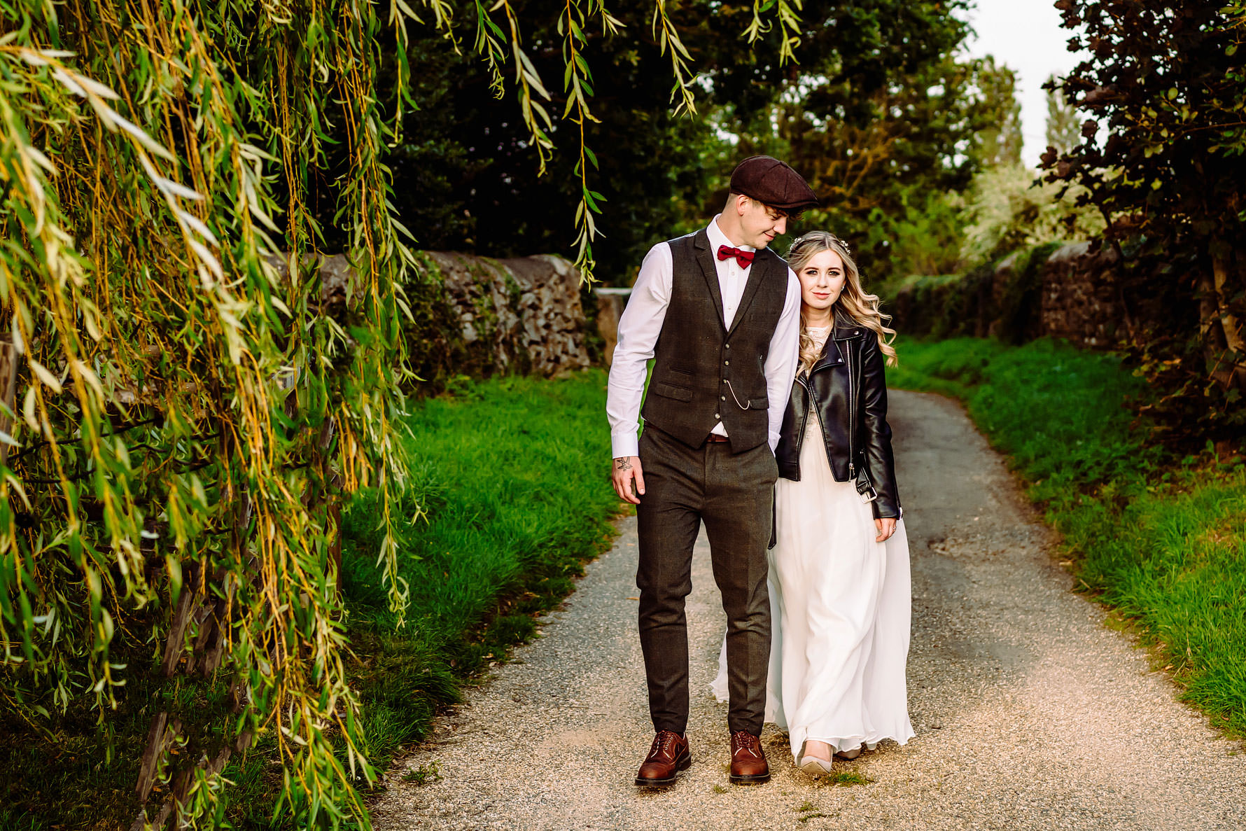 a peaky blinders inspired wedding
