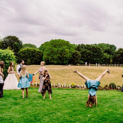 a reportage wedding image