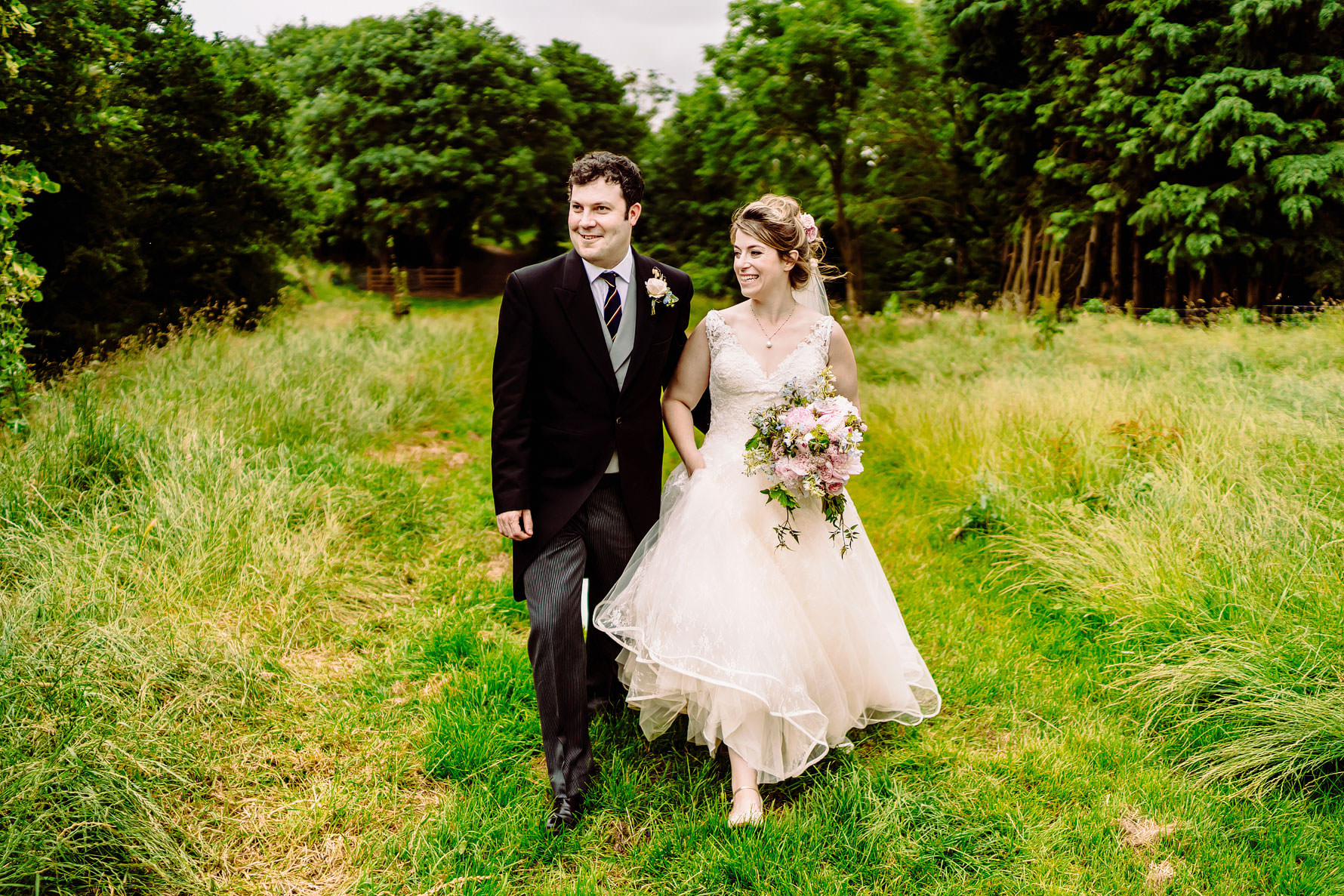 a marquee wedding in Northamptonshire