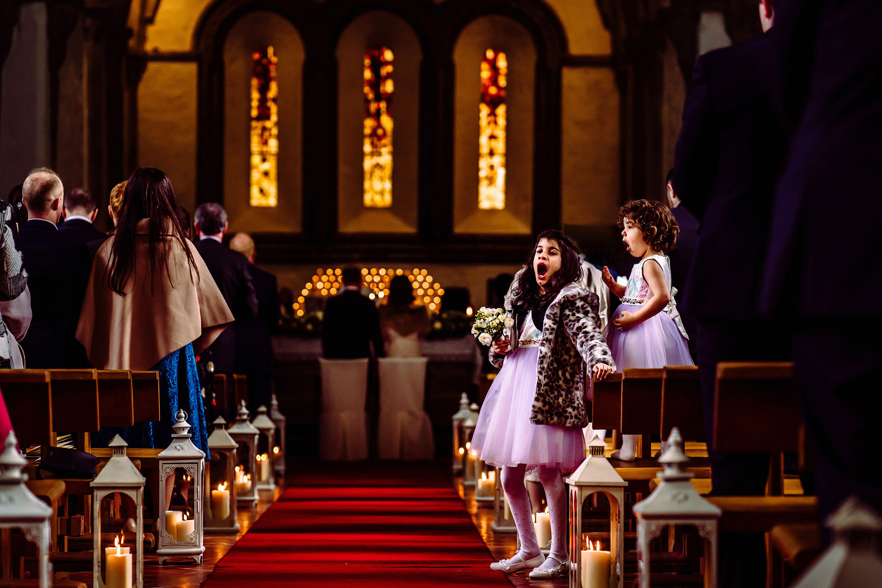 a documentary photography from a traditional irish wedding