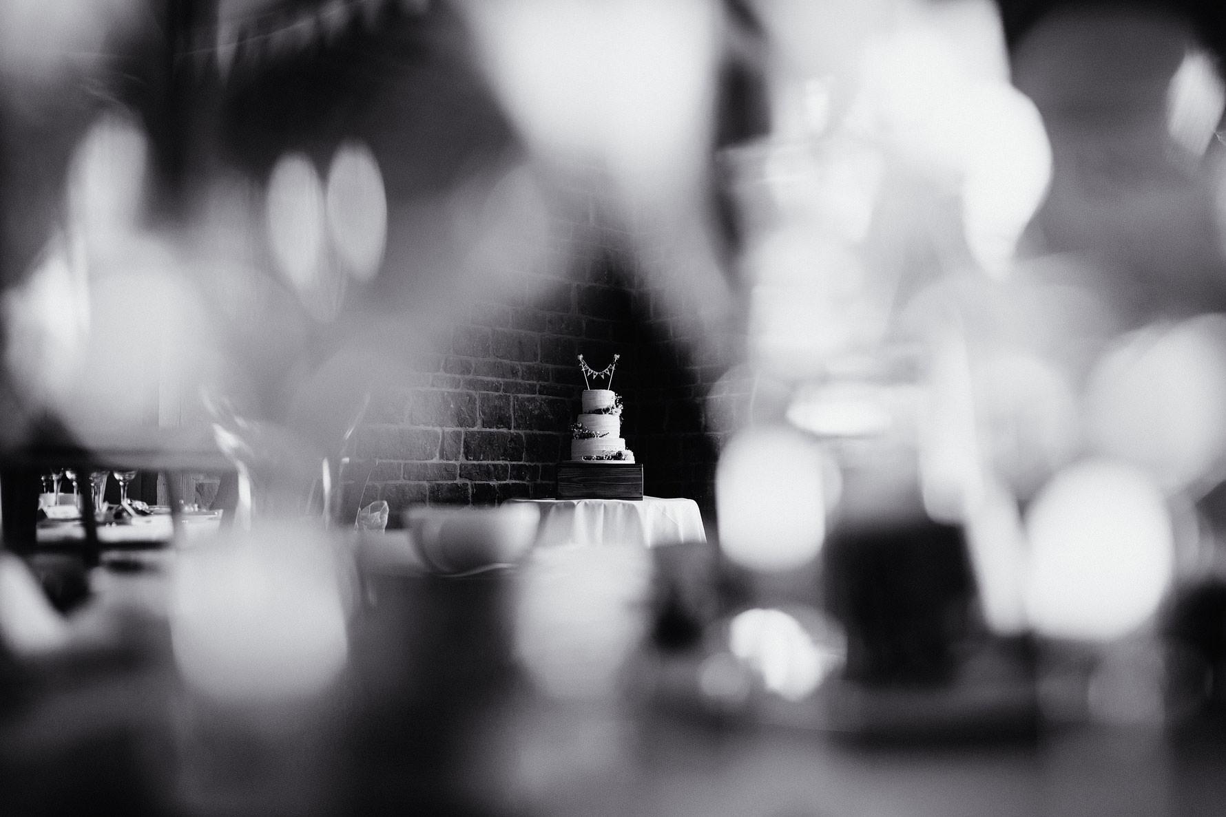 a wedding cake detail