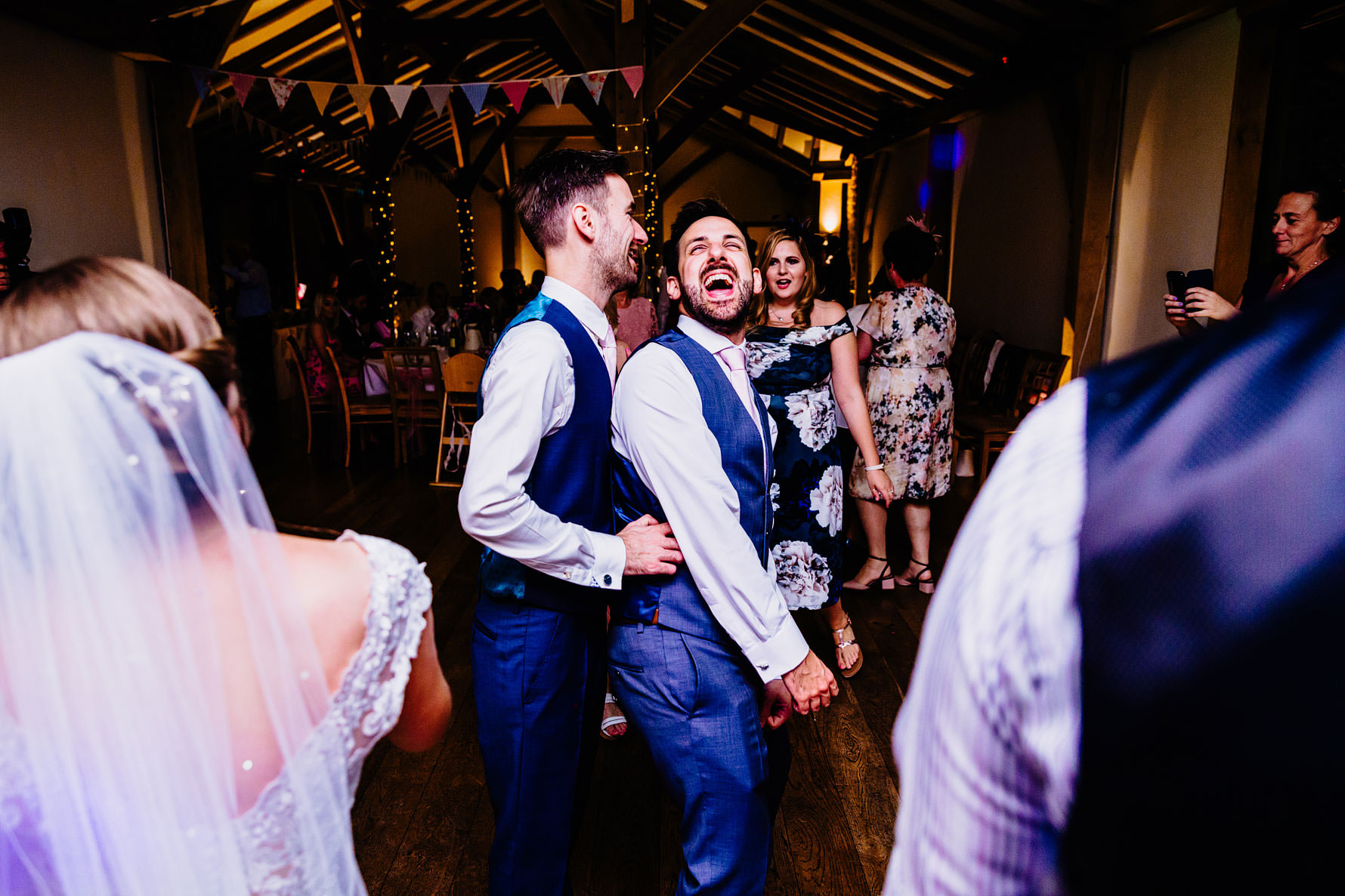 a funny wedding moment