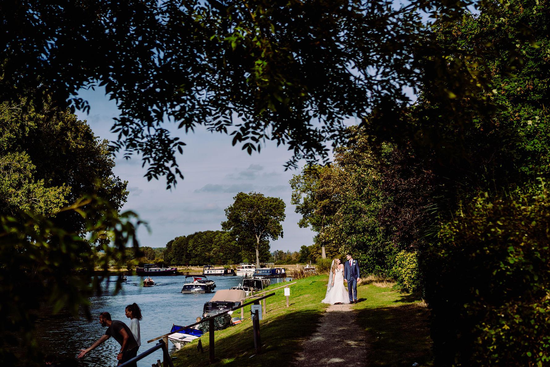 a waterside wedding
