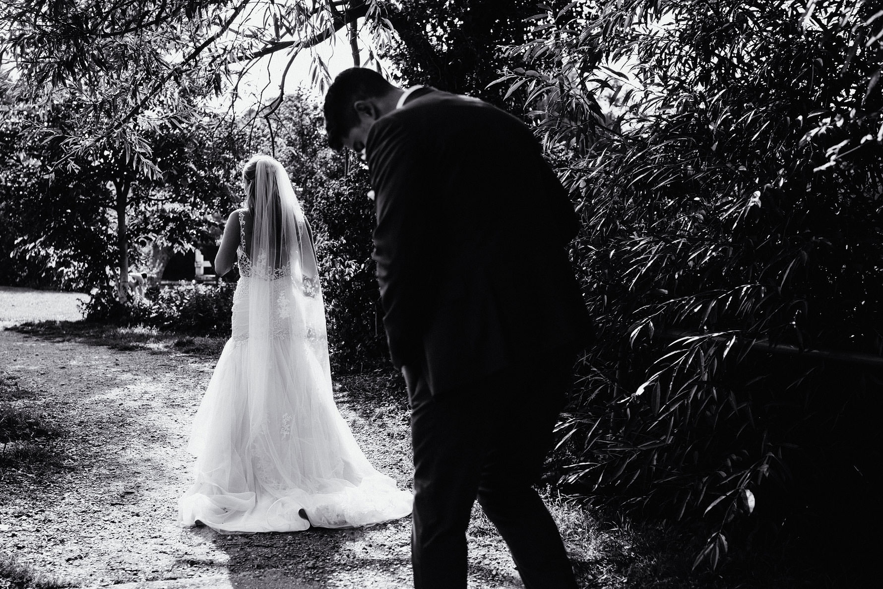 a nice image of the back of a wedding dress