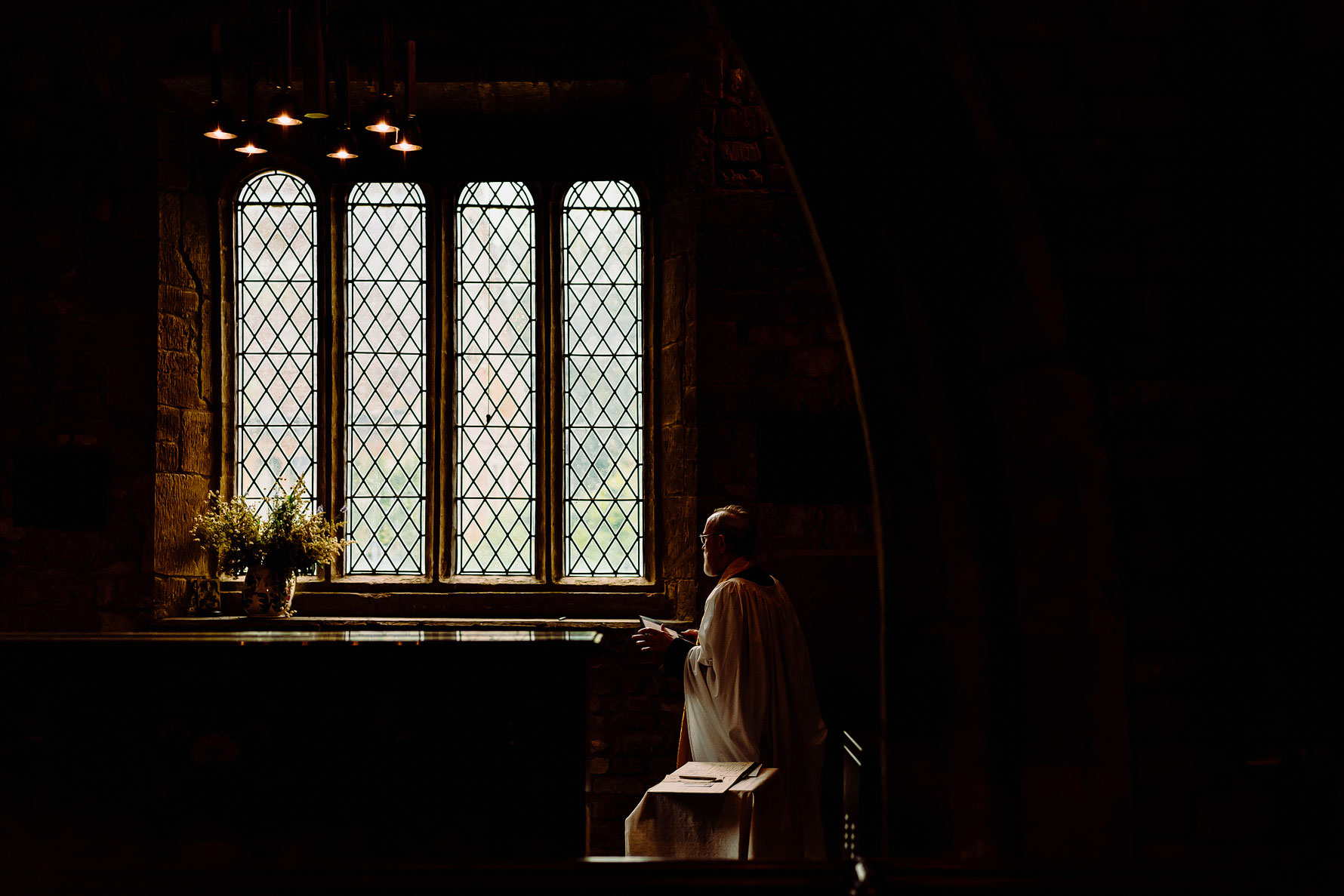 an artistic photograph of a vicar