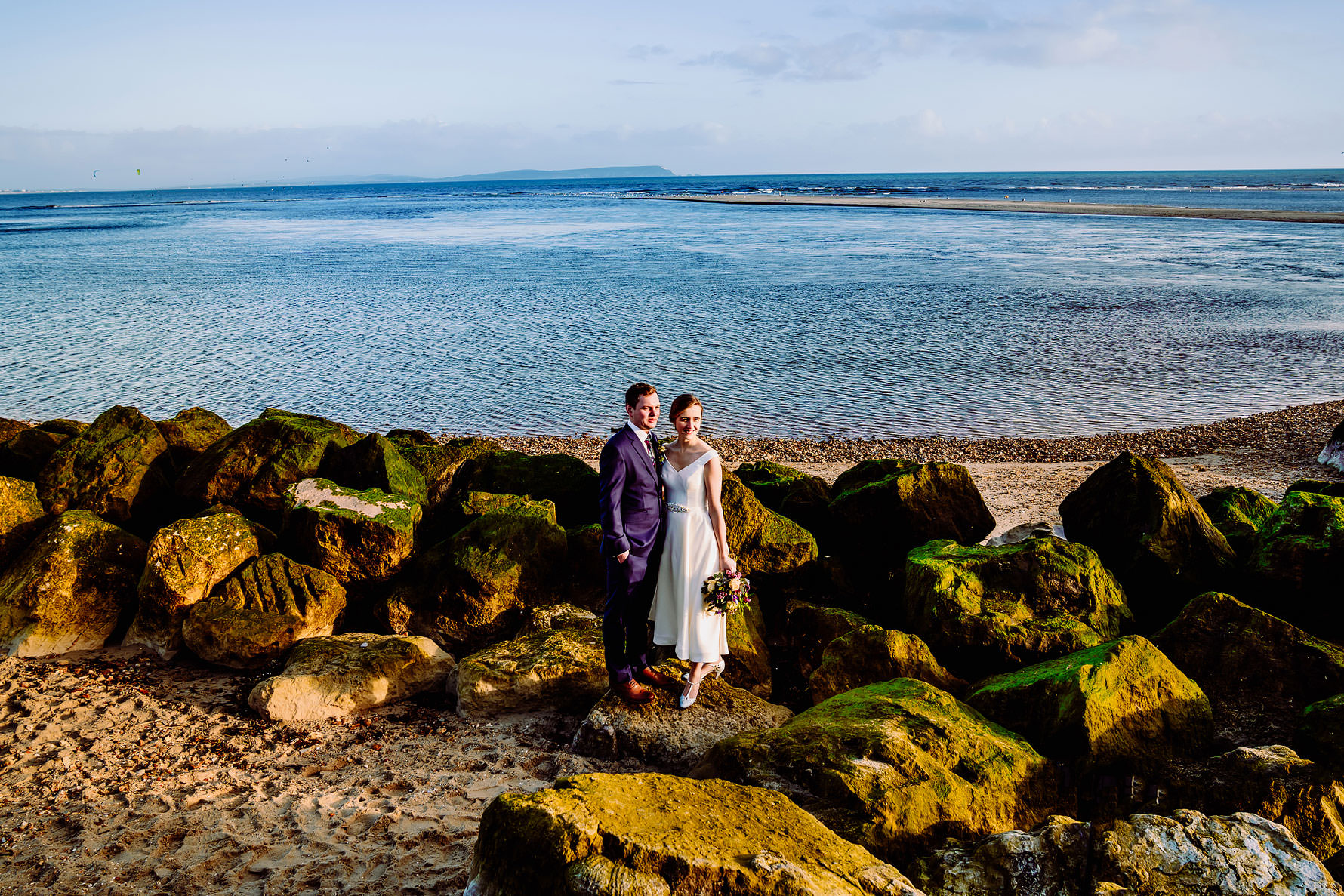 Bournemouth beach wedding photography by Elliot W Patching